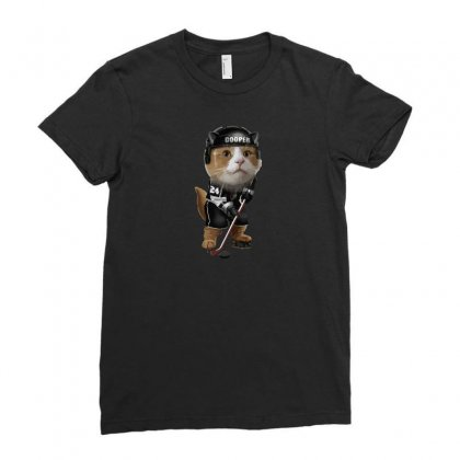 Cooper Ladies Fitted T-shirt Designed By Arsyad