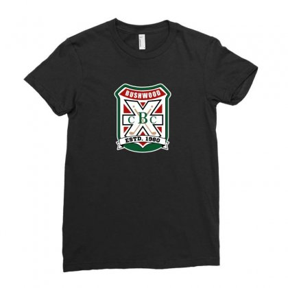 Country Club Logo Ladies Fitted T-shirt Designed By Arsyad