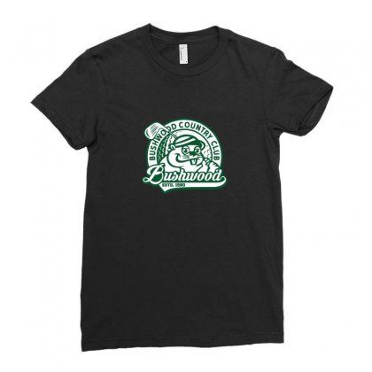 Country Club Mascot Logo Ladies Fitted T-shirt Designed By Arsyad