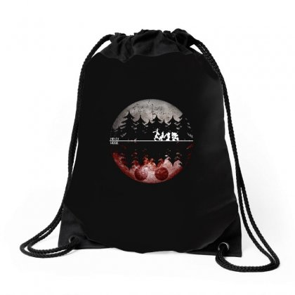 Mickey Mouse Night Walking Drawstring Bags Designed By Omer Acar