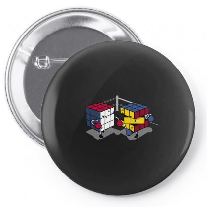 Cube Fight! Pin-back Button Designed By Arsyad
