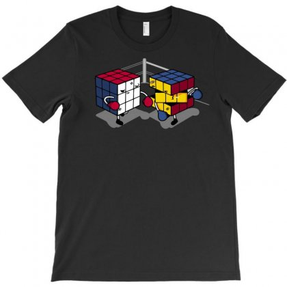 Cube Fight! T-shirt Designed By Arsyad