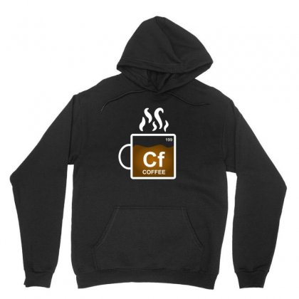 Coffee Element Periodic Funny Gift For Coffee Lovers Unisex Hoodie Designed By Platinumshop