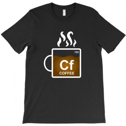 Coffee Element Periodic Funny Gift For Coffee Lovers T-shirt Designed By Platinumshop