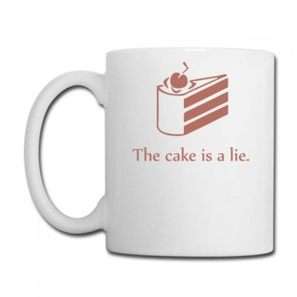 Cake Is A Lie Coffee Mug Designed By Gematees