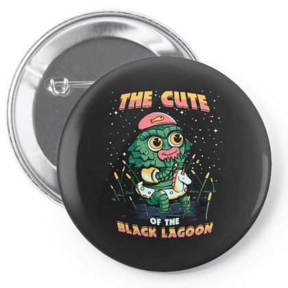 Cute Of The Black Lagoon! Pin-back Button Designed By Arsyad