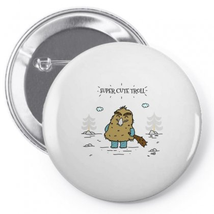 Cute Troll Pin-back Button Designed By Arsyad