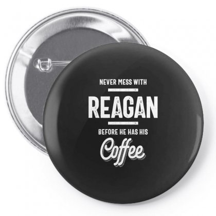 Reagan Name Funny T-shirt Pin-back Button Designed By Cidolopez
