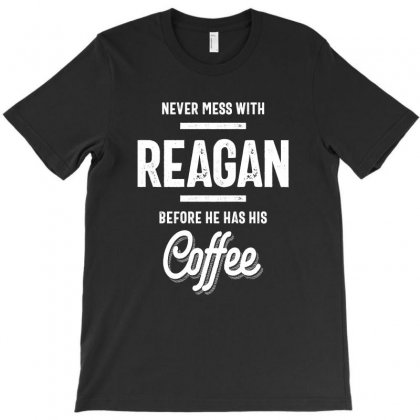 Reagan Name Funny T-shirt T-shirt Designed By Cidolopez