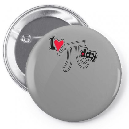 I Heart Pi Day Pin-back Button Designed By Erryshop