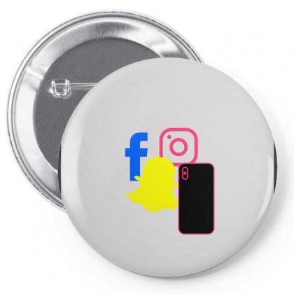 Socialé Pin-back Button Designed By Ridhaa666