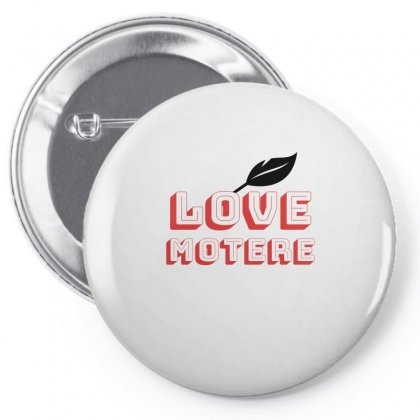 T_shirt Love Mother Pin-back Button Designed By Cikhe