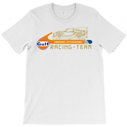 Gulf Racing Team T-shirt Designed By Animestars