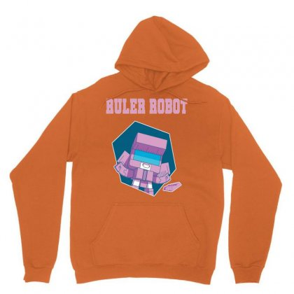 Ruler Robot Unisex Hoodie Designed By Butterfly99