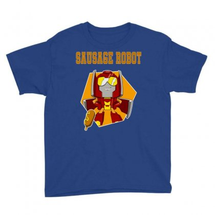 Sausage Robot Youth Tee Designed By Butterfly99
