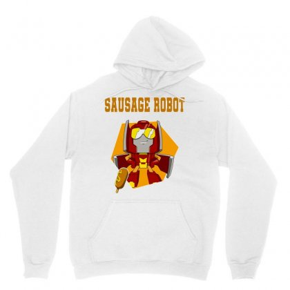 Sausage Robot Unisex Hoodie Designed By Butterfly99