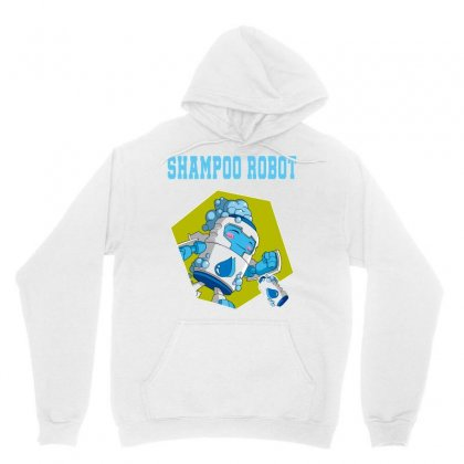 Shampoo Robot Unisex Hoodie Designed By Butterfly99