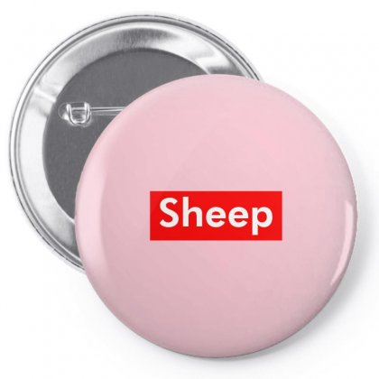 Sheep Pin-back Button Designed By Butterfly99