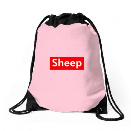 Sheep Drawstring Bags Designed By Butterfly99