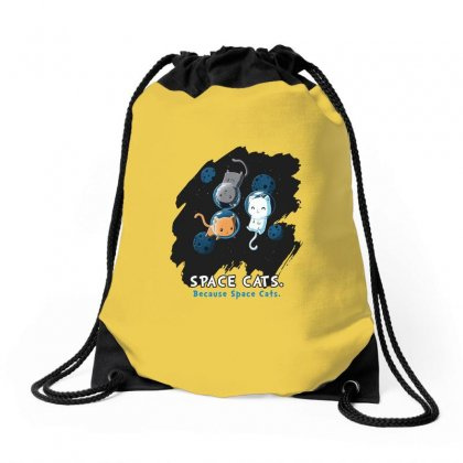 Space Cats Drawstring Bags Designed By Butterfly99