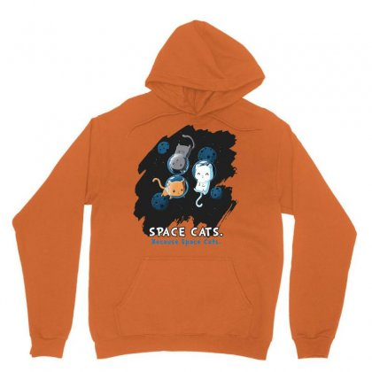 Space Cats Unisex Hoodie Designed By Butterfly99