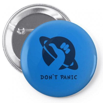 Space Dont Panic Pin-back Button Designed By Butterfly99