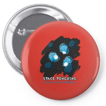 Space Penguins Pin-back Button Designed By Butterfly99