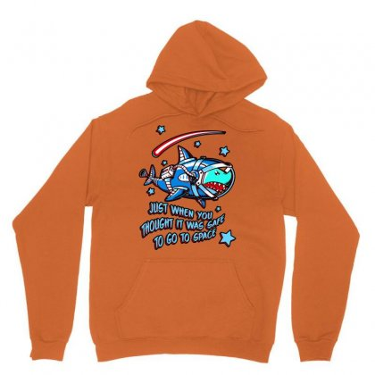 Space Shark Astronaut Unisex Hoodie Designed By Butterfly99