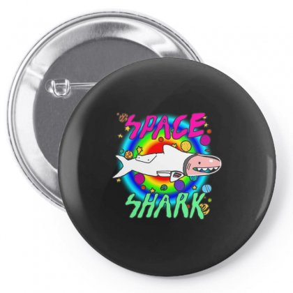 Space Shark Pin-back Button Designed By Butterfly99