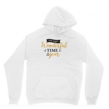 The Most Wonderful Time Of The Year Unisex Hoodie Designed By Estore
