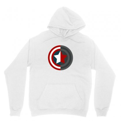 Colorful Shield Unisex Hoodie Designed By Wings