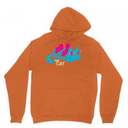 Squish That Cat Unisex Hoodie Designed By Artwoman