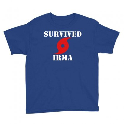 Survived Irma Youth Tee Designed By Artwoman
