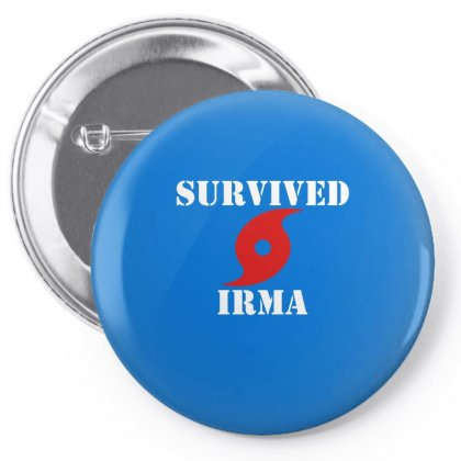 Survived Irma Pin-back Button Designed By Artwoman
