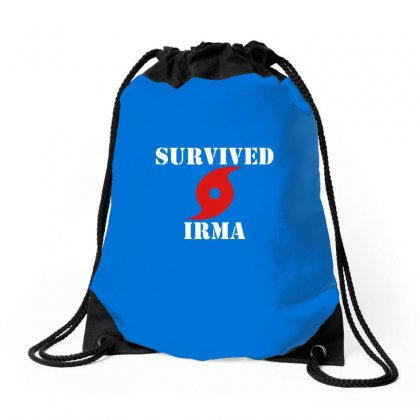 Survived Irma Drawstring Bags Designed By Artwoman
