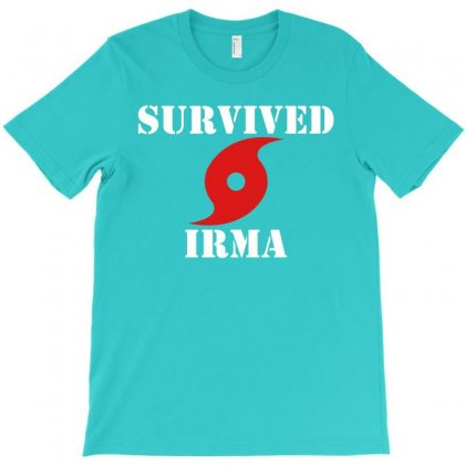 Survived Irma T-shirt Designed By Artwoman