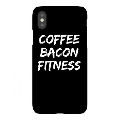 Coffee Bacon Fitness T Shirt Iphonex Case Designed By Cuser2324