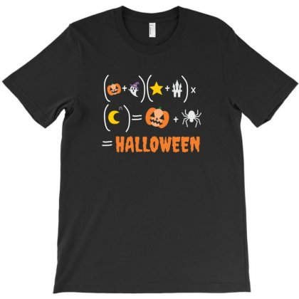 Halloween For Math Lovers T-shirt Designed By Platinumshop
