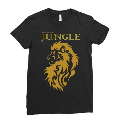 Lion King Ladies Fitted T-shirt Designed By Xprime