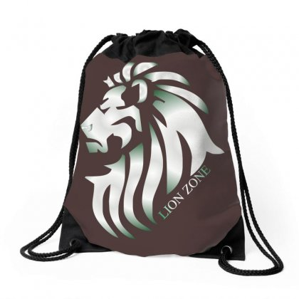Lion Zone Drawstring Bags Designed By Xprime