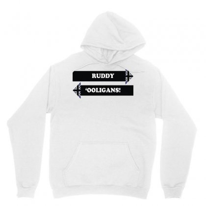 Dad's Army   Ruddy 'ooligans Unisex Hoodie Designed By Arsyad
