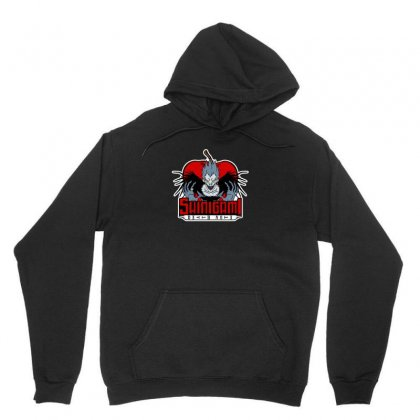 Demon Of Death Mascot Unisex Hoodie Designed By Arsyad