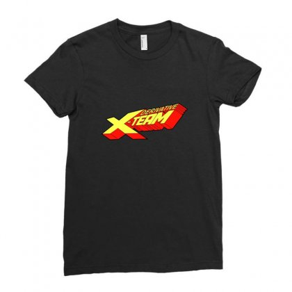 Derivative X Team Ladies Fitted T-shirt Designed By Arsyad