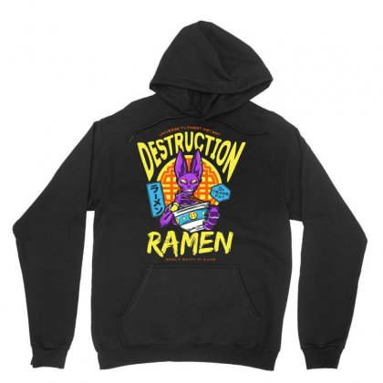 Destruction Ramen Unisex Hoodie Designed By Arsyad