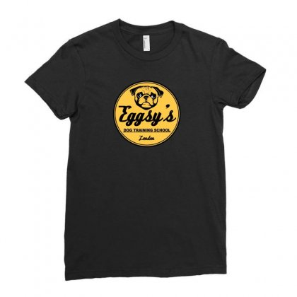 Dog Training School Ladies Fitted T-shirt Designed By Arsyad