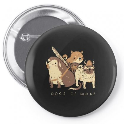 Dogs Of War Pin-back Button Designed By Arsyad