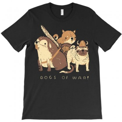 Dogs Of War T-shirt Designed By Arsyad