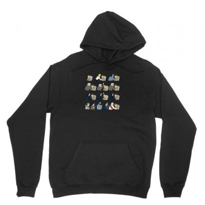 Don't Panic Unisex Hoodie Designed By Arsyad