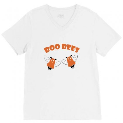Boo Bees Merch V-neck Tee Designed By Peri