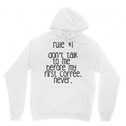 Don't Talk To Me Unisex Hoodie Designed By Arsyad